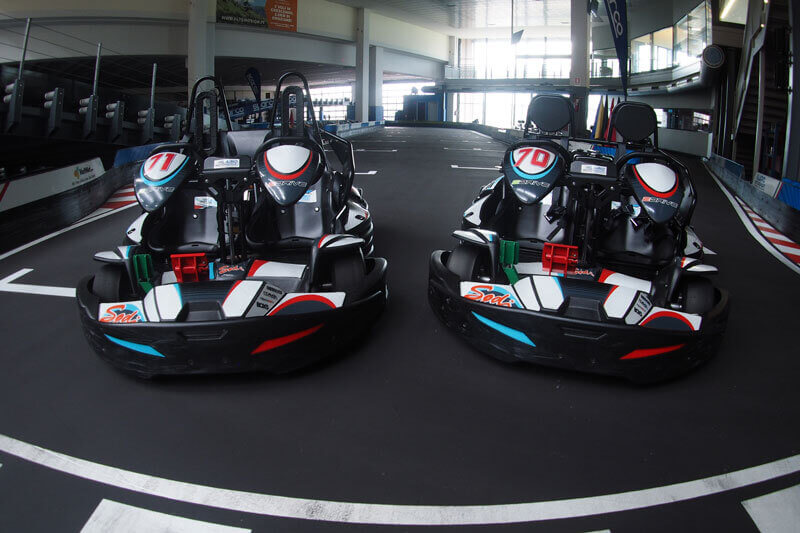 TWO SEATERS SODI GO KART